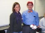 CPSA President Jessica Brooks with Dr. Gerry Koocher
